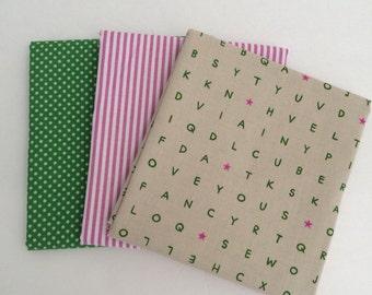 1/2 Yard Bundle Playful Cotton + Steel plus Riley Blake fabrics