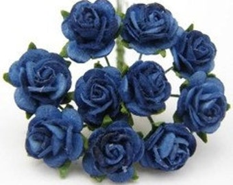 1:12 DOLLHOUSE 20 Roses, blue