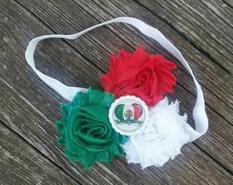 Mexican headband, Mexican heritage headband, Mexican sweetheart headband, folkloric headband, cinco de mayo headband, red headband, baby
