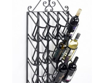 Jenevieve Wall Mount Wine Rack