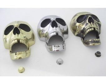 Polished Brass Deluxe Skull Brass