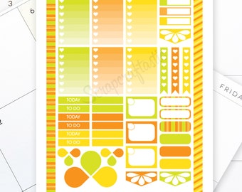 Citrus Printable Planner Stickers for the Classic MAMBI Happy Planner