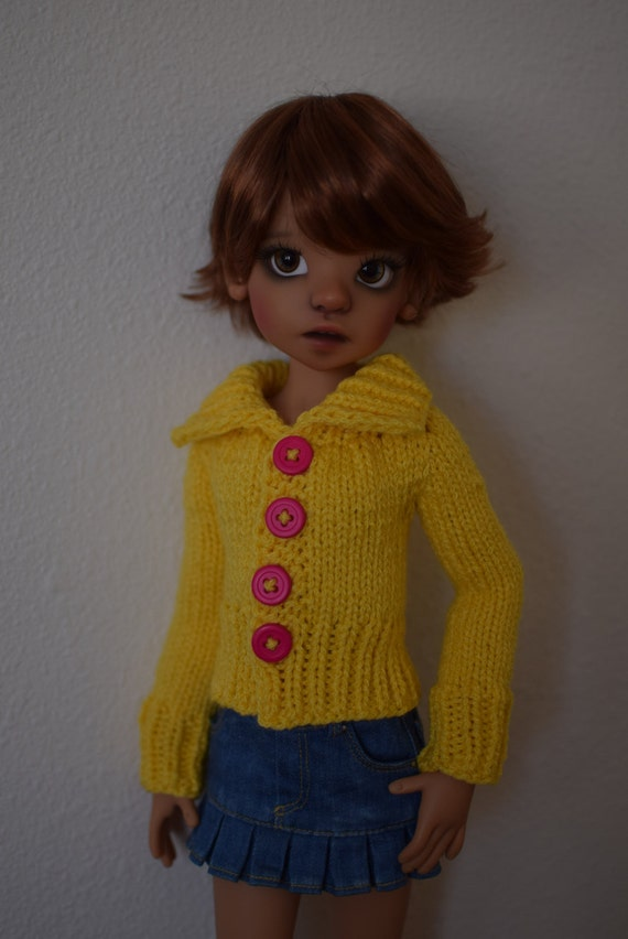 Knitting Pattern Sweater With Collar : 2. Big Collar Sweater PDF Knitting Pattern for Kaye