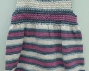 Gorgeous little girls blueberry dress