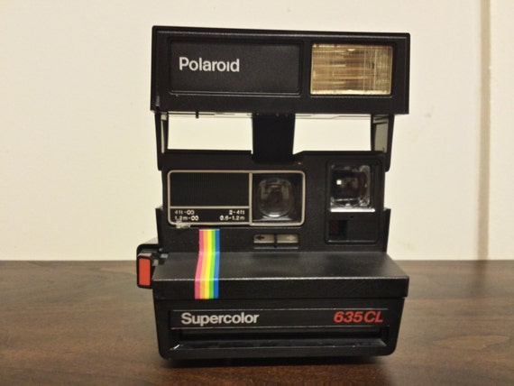 polaroid 635 cl supercolor camera. Black Bedroom Furniture Sets. Home Design Ideas