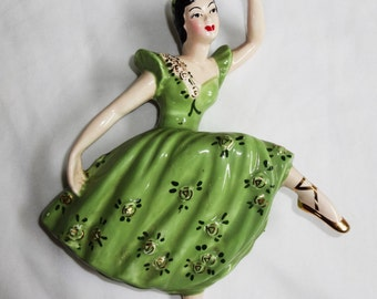 Attitude dancer 1940's Wall plaque