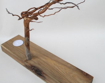 Whimsical Wintertree Candle Holder