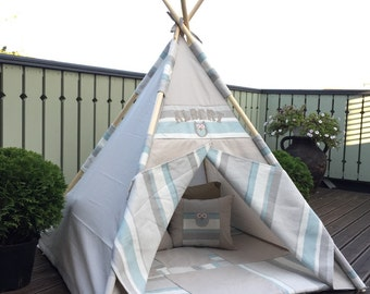 Little owl teepee with child name