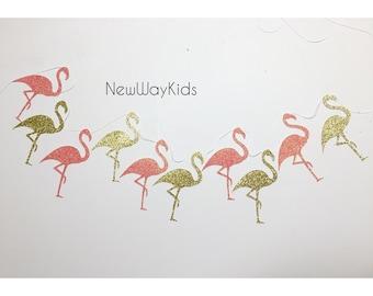Flamingo Garland