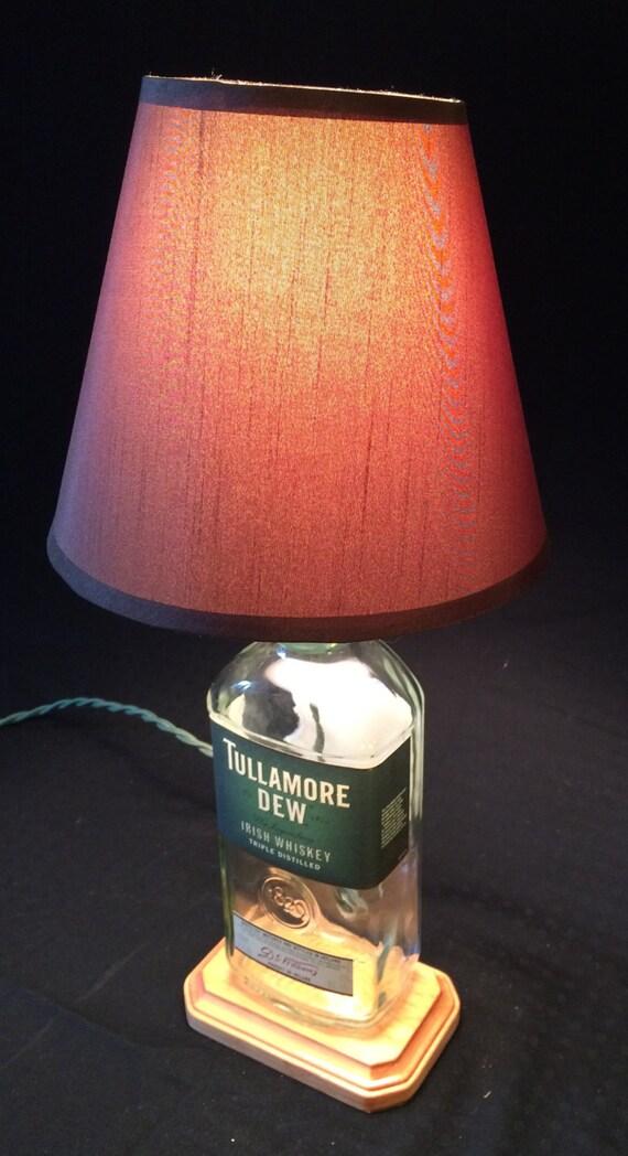 benutzerdefinierte flasche lampe whiskey tullamore dew irische. Black Bedroom Furniture Sets. Home Design Ideas