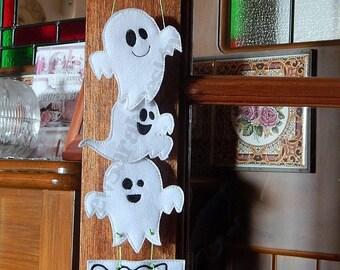 ITH Ghost Door Hanger - (4x4 & 5x7)