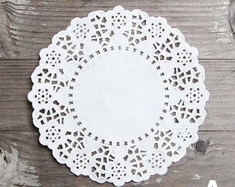"100 x Paper Doilies 4.5"" - Small Size [A-D]"