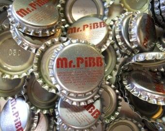 VINTAGE! 1970's Mr Pibb Lot of 100 Bottle Caps