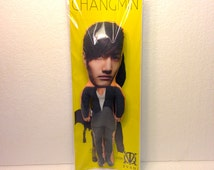 Changmin of TVXQ Stuffed Star toy Custom doll Handmade
