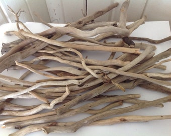 75 pieces curly driftwood Bulk driftwood Driftwood art Macrame hangers Macrame art Terrarium supplies Aquarium supplies Succulents