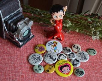 Vintage Betty Boop Pins
