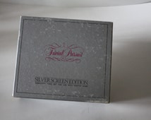 Game, Trivial pursuit, 1983 silver screen edition, board game, family game, movie trivia, table game, movie buff, card game, guessing game