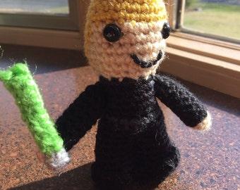 Luke Skywalker - Jedi Knight Star Wars inspired amigurumi