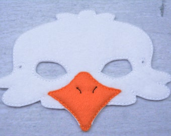 Eagle Children's Felt Mask  - Costume - Theater - Dress Up - Halloween - Face Mask - Pretend Play - Party Favor
