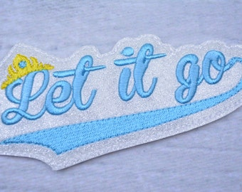 Let It Go Headband Accessory Headband - Gift for Her - Women - Girls Headbands - Hair Accessories - Headbands for Women - Adult Headband