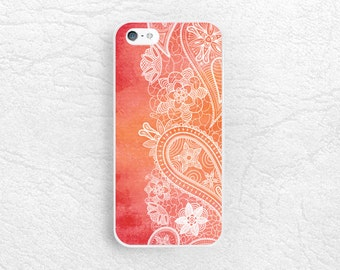 Watercolor Floral Lace pattern phone case for iPhone 6/6s plus, Lg G4 g3 Nexus 5, Samsung s6 edge, Note 5, HTC One m8 m9, Moto x Moto G -P51