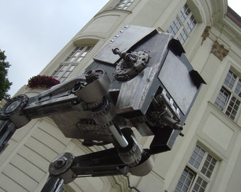 Metal Star  Wars  AT-ST 265 cm 8,7ft