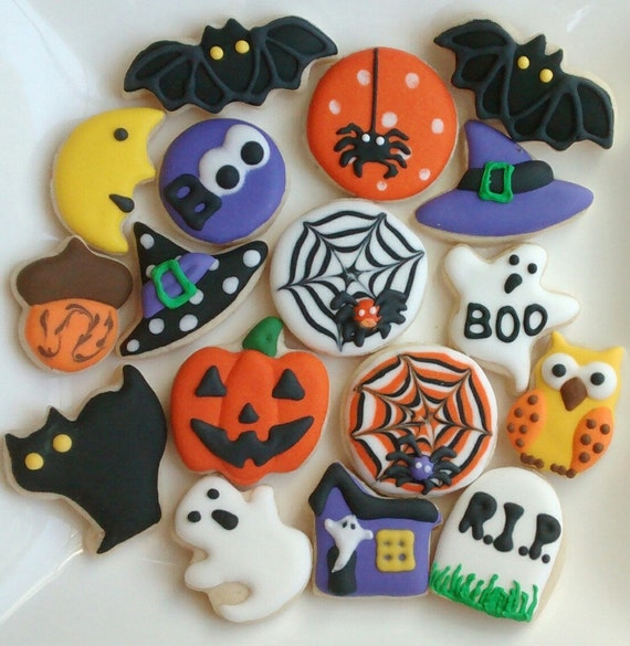 like this item - Decorated Halloween Sugar Cookies