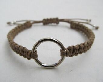 Infinity bracelet, macrame bracelet, karma bracelet
