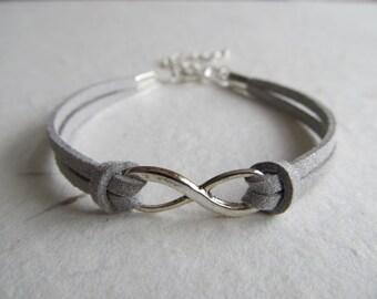 Infinity Bracelet, Infinite Love Bracelet, Charm Bracelet, Friendship Bracelet