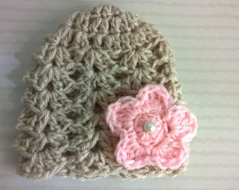Bonnet baby wool
