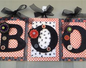 Halloween, Halloween Decoration, Halloween Party, Halloween Letters, BOO, October Decorations, Halloween Words, Boo Letters
