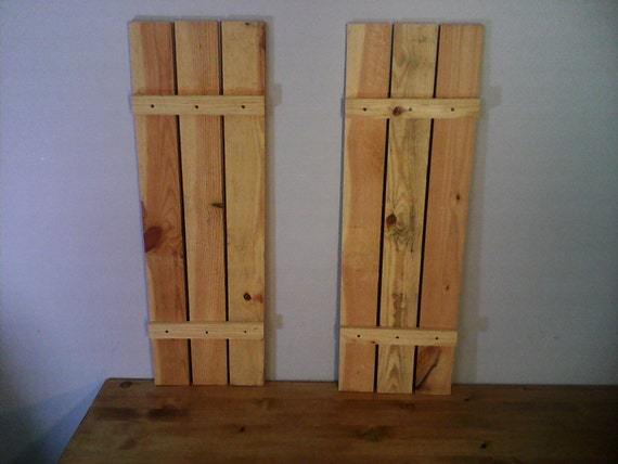 Rustic decorative shutters for 18 inch wide exterior shutters