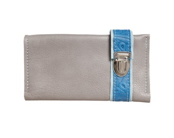 Leather wallet of Haeute, 9 credit card slots, very spacious, wallet made in Germany