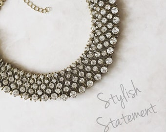 Statement Necklace - Amor