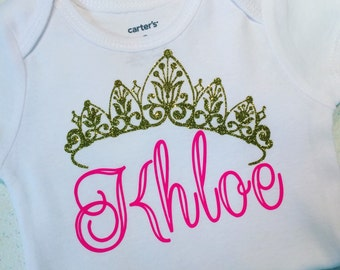 Custom princess onesie!