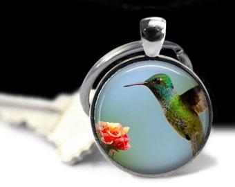 Humming Bird Jewelry Humming Bird Pendant Wearabel Art Bird Lovers Gift