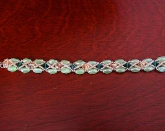 Neptune Beadweave Bracelet