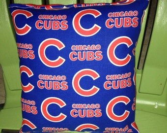 Cubs Pillow Chicago Cubs Pillow MLB Handmade in USA