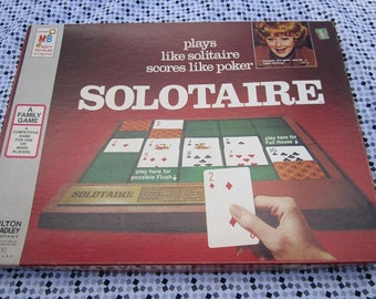 Solotaire-1973 by Milton Bradley-Complete