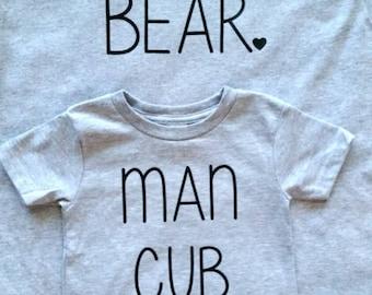 SALE Toddler Man cub Tshirt