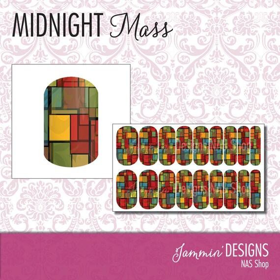 Midnight Mass NAS (Nail Art Studio) Design