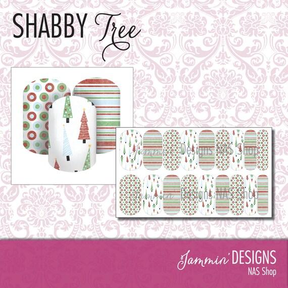 Shabby Tree NAS (Nail Art Studio) Design