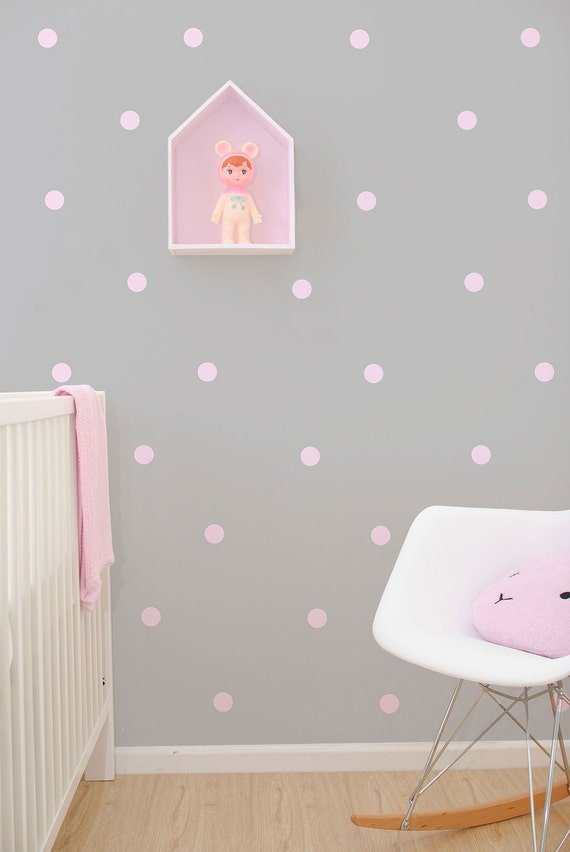 polka dot wall vinyl stickers decals confetti wall sticker dots amp decals for nursery 41 orchard