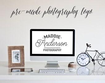 Pre-Made Photography Logo, Watermark, Logo Design, Graphic, No. 2