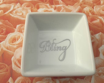 Small jewelry dish, for rings, earrings, small jewelry pieces, perfect for engagement, bridal, shower, wedding, birthday, Mother's day gift