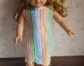 American Girl Doll Crocheted Outfit