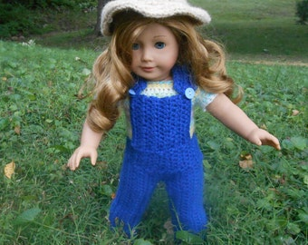 American Girl Doll Overalls