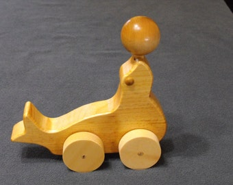 Wooden Toy Seal