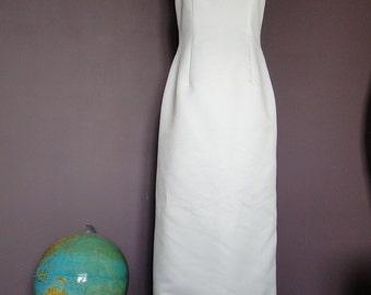 vintage 38 40 t sheath wedding dress