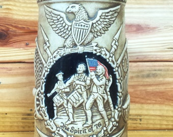 The Great American Revolution The Spirit of 76 Beer Stein